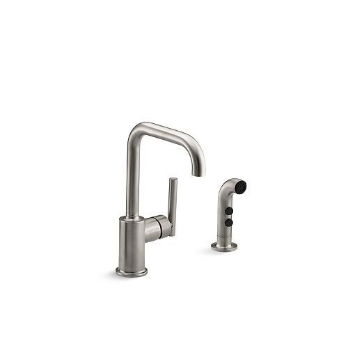 Purist Secondary Swing Spout With Spray