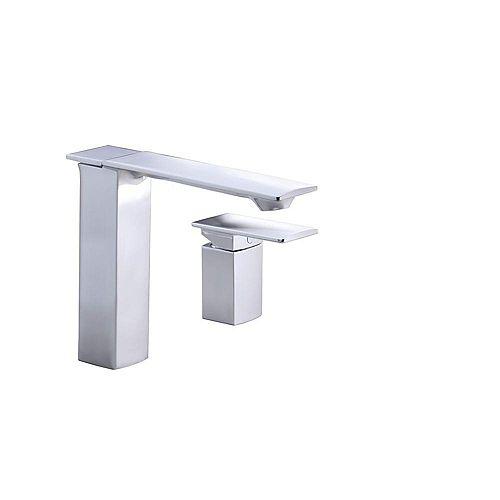 Stance(R) deck-mount high-flow bath faucet with remote lever handle