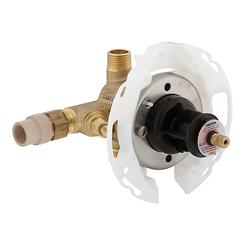 Rite-Temp Valve With Stops, Cpvc Inlets