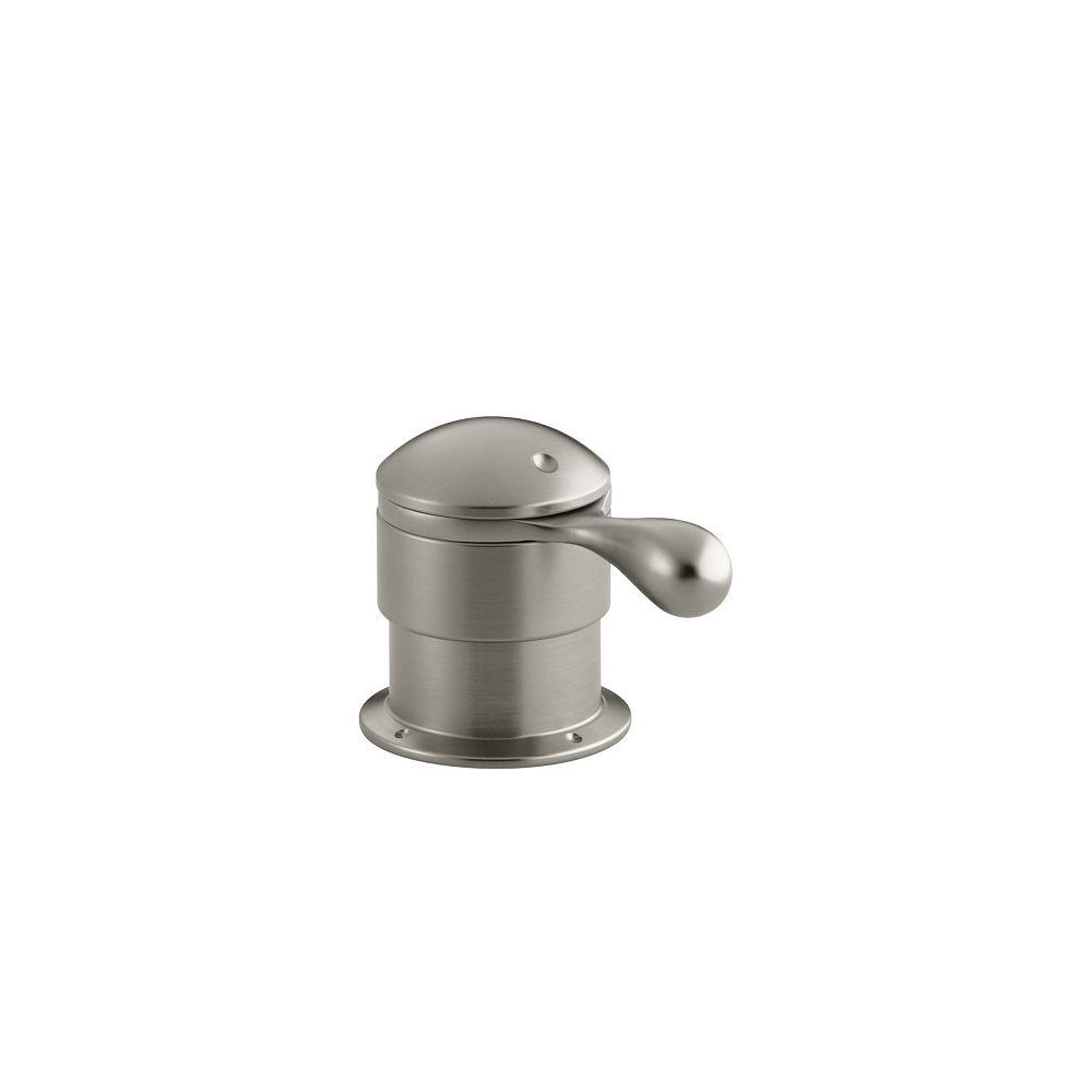 KOHLER Robinetterie a montage en surface pour robinet coupleur/reniflard avec poignee a levier, robinet non inclus