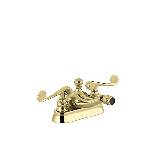 Revival Centreset Bidet Faucet with Scroll Lever Handles