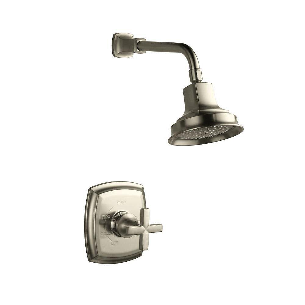 KOHLER Margaux Rite-Temp Pressure-Balancing Shower Faucet with Cross Handle