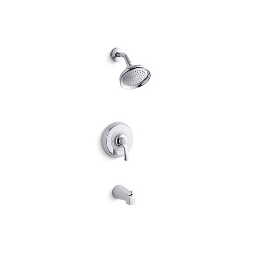 Fairfax Rite-Temp Pressure-Balancing Bath/Shower Faucet with Lever Handle and Diverter Spout