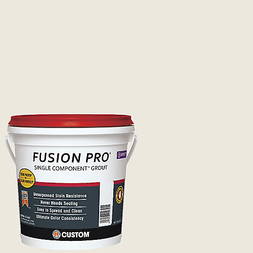 Fusion PRO #381 3.78 L Bright White Single Component Grout