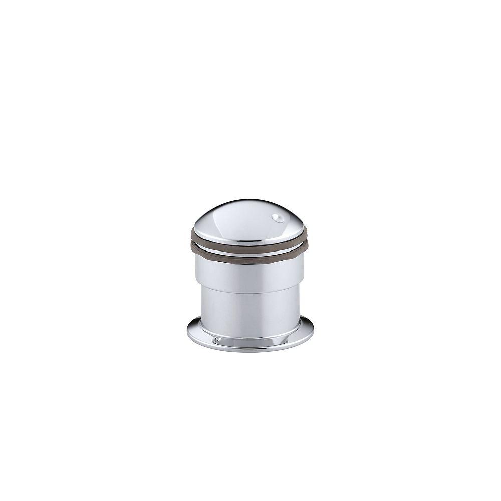 KOHLER Baignoire ou garniture de vanne de transfert à plateau/garniture de dispositif antirefoulement avec poignée à cylindre, vanne non incluse