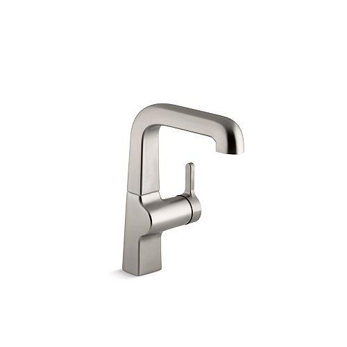 "Evoke(R) single-hole bar sink faucet with 7"" spout"