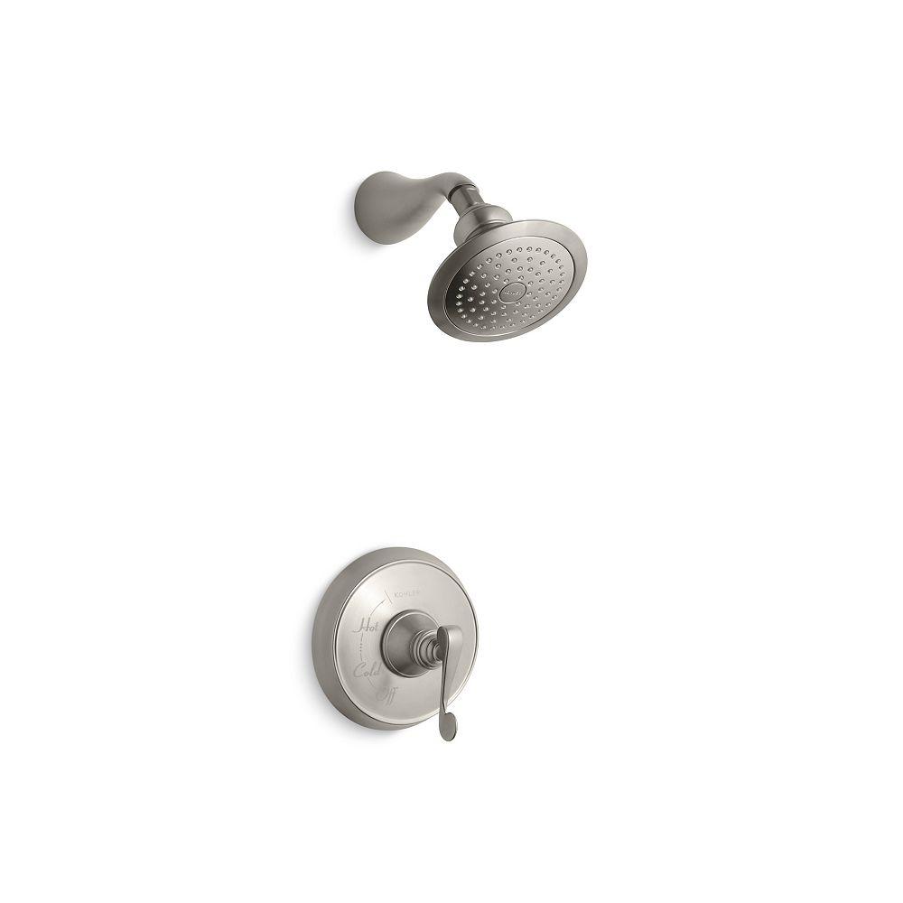 KOHLER Revival Rite-Temp garniture de robinet de douche à équilibrage de pression avec poignée à levier en spirales, vanne non incluse