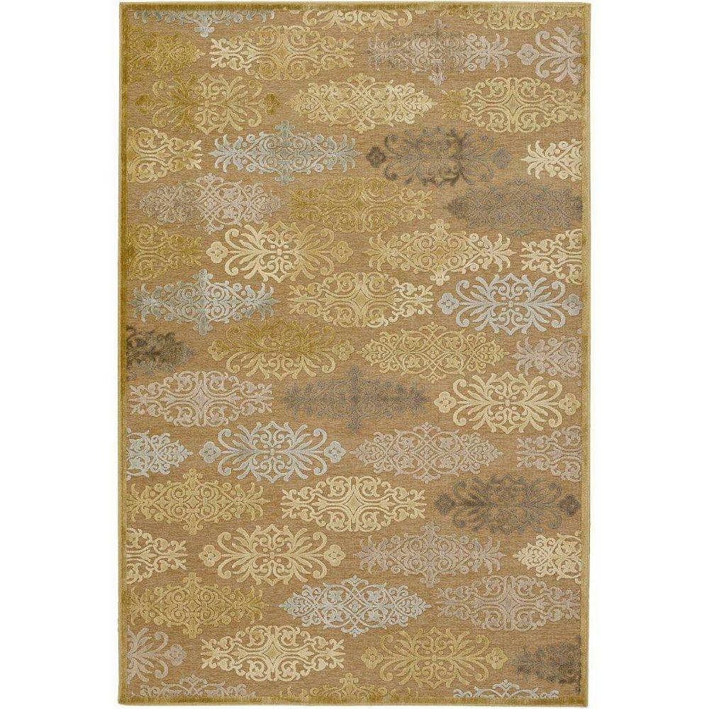 Artistic Weavers Carpette d'intérieur, 2 pi 2 po x 3 pi, style transitionnel, rectangulaire, havane Avalon
