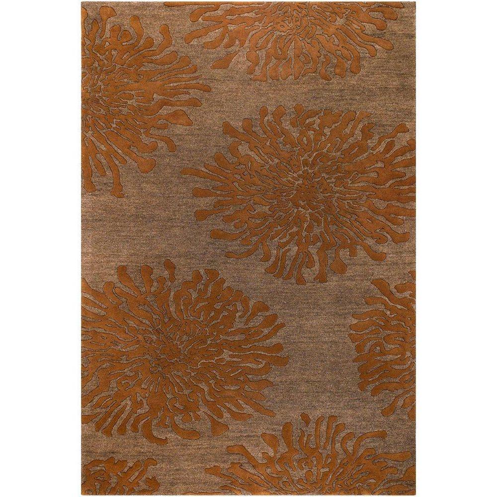 Artistic Weavers Beaumont Orange 5 ft. x 8 ft. Indoor Transitional Rectangular Area Rug
