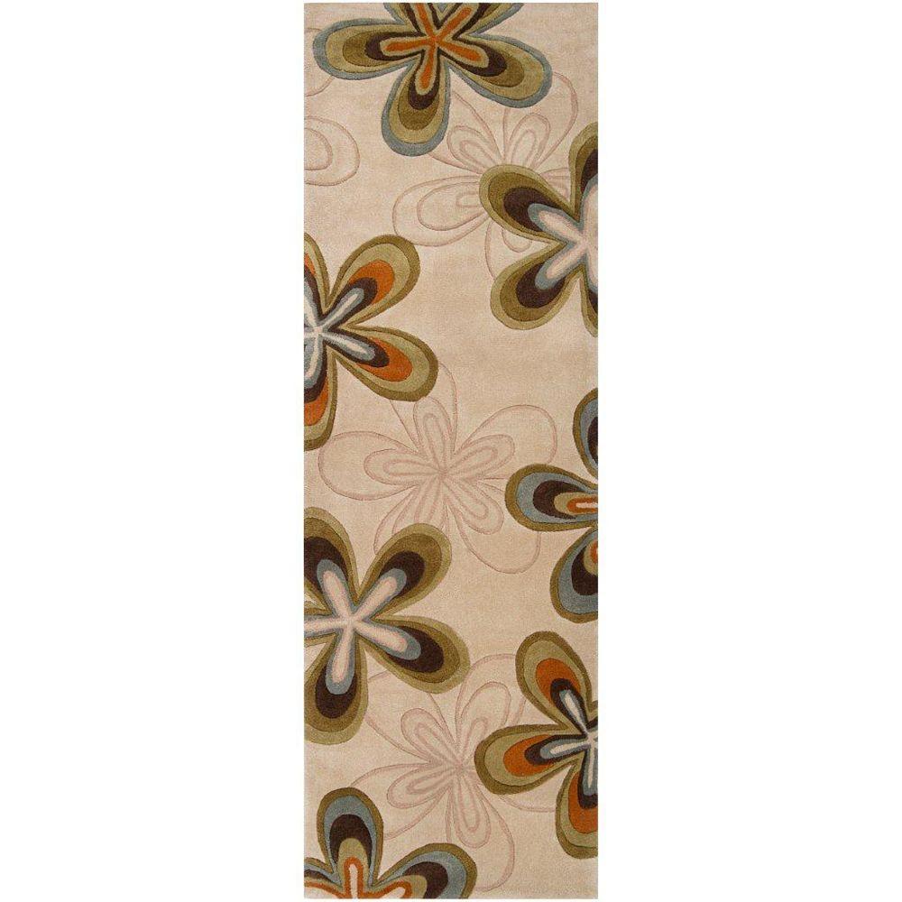 Artistic Weavers Carpette, 8 pi x 11 pi, rectangulaire, havane Macinaggio