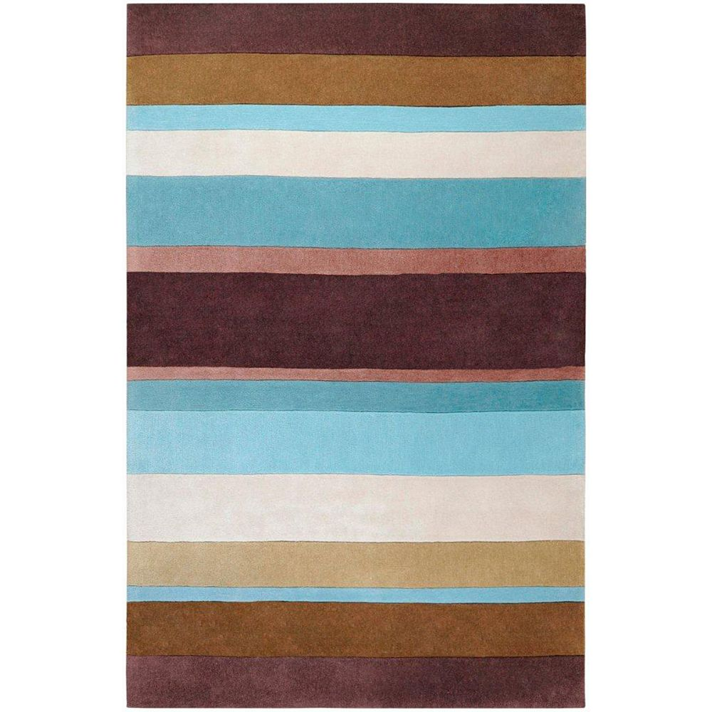 Artistic Weavers Maclas Blue 8 ft. x 11 ft. Indoor Transitional Rectangular Area Rug