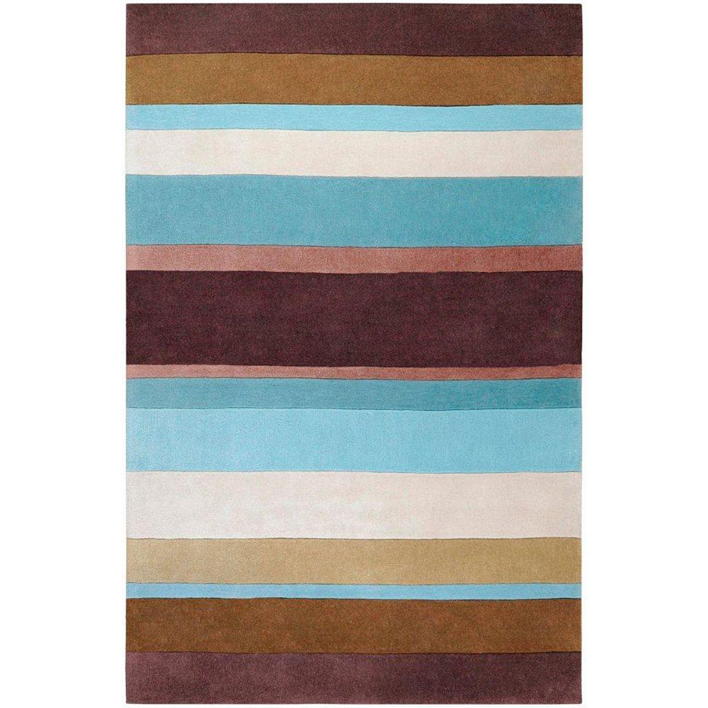 Artistic Weavers Maclas Blue 9 ft. x 13 ft. Indoor Transitional Rectangular Area Rug