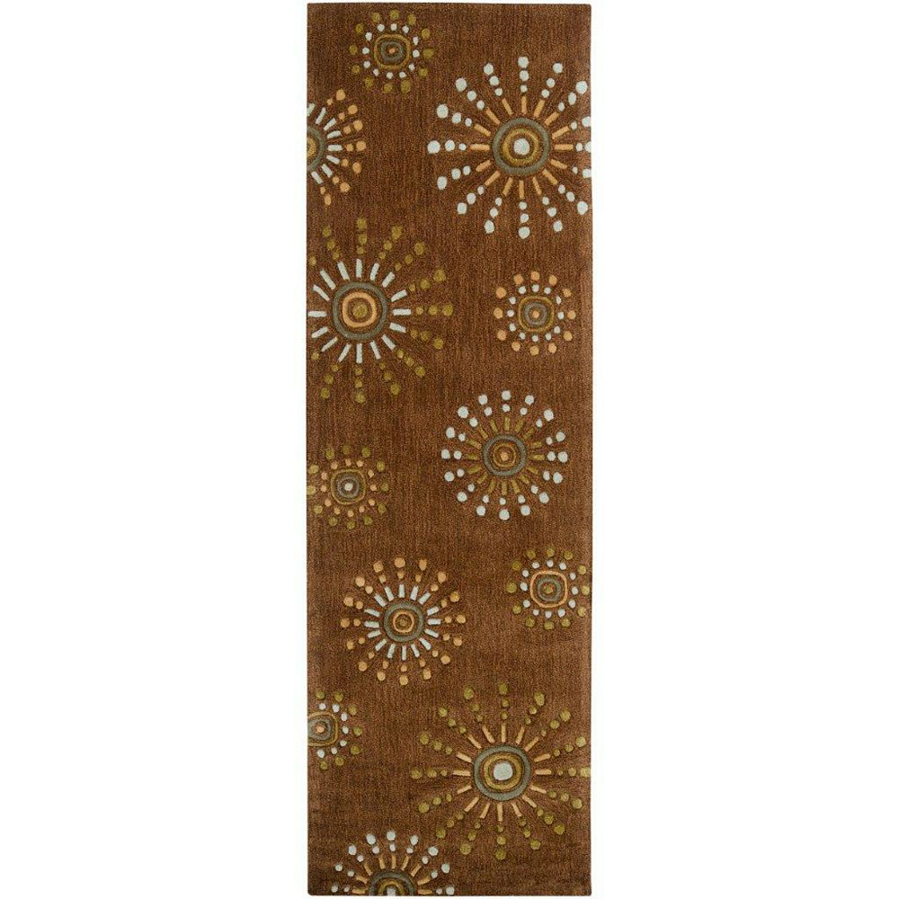 Artistic Weavers Macon Brown 2 ft. 6-inch x 8 ft. Runner