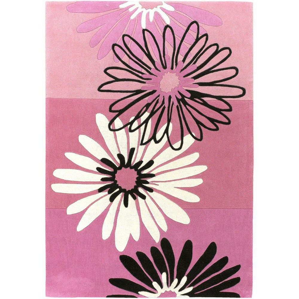 Artistic Weavers Valady Pink 6 ft. x 9 ft. Rectangular Area Rug