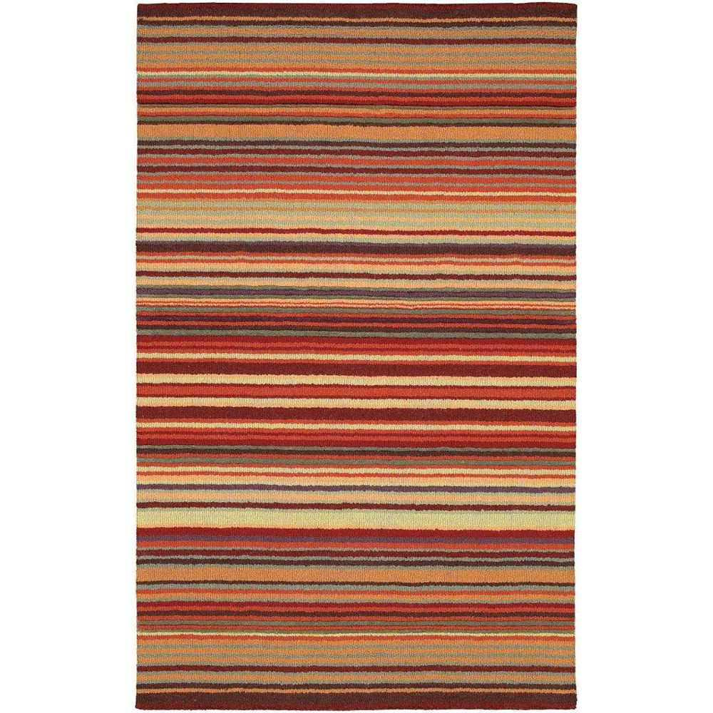 Artistic Weavers Valanjou Red 8 ft. x 11 ft. Indoor Contemporary Rectangular Area Rug