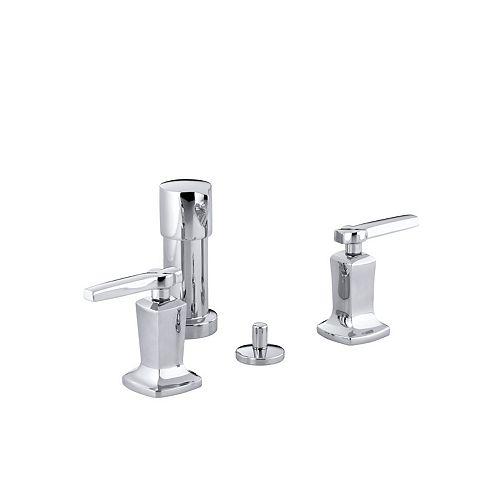 KOHLER Margaux 2-Handle Bidet Faucet with Lever Handles