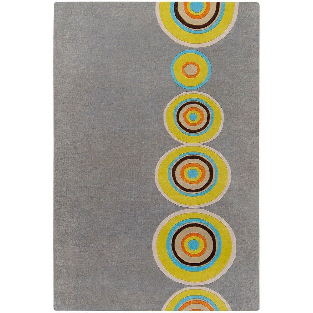 Artistic Weavers Pannece Grey 2 ft. x 3 ft. Indoor Contemporary Rectangular Accent Rug