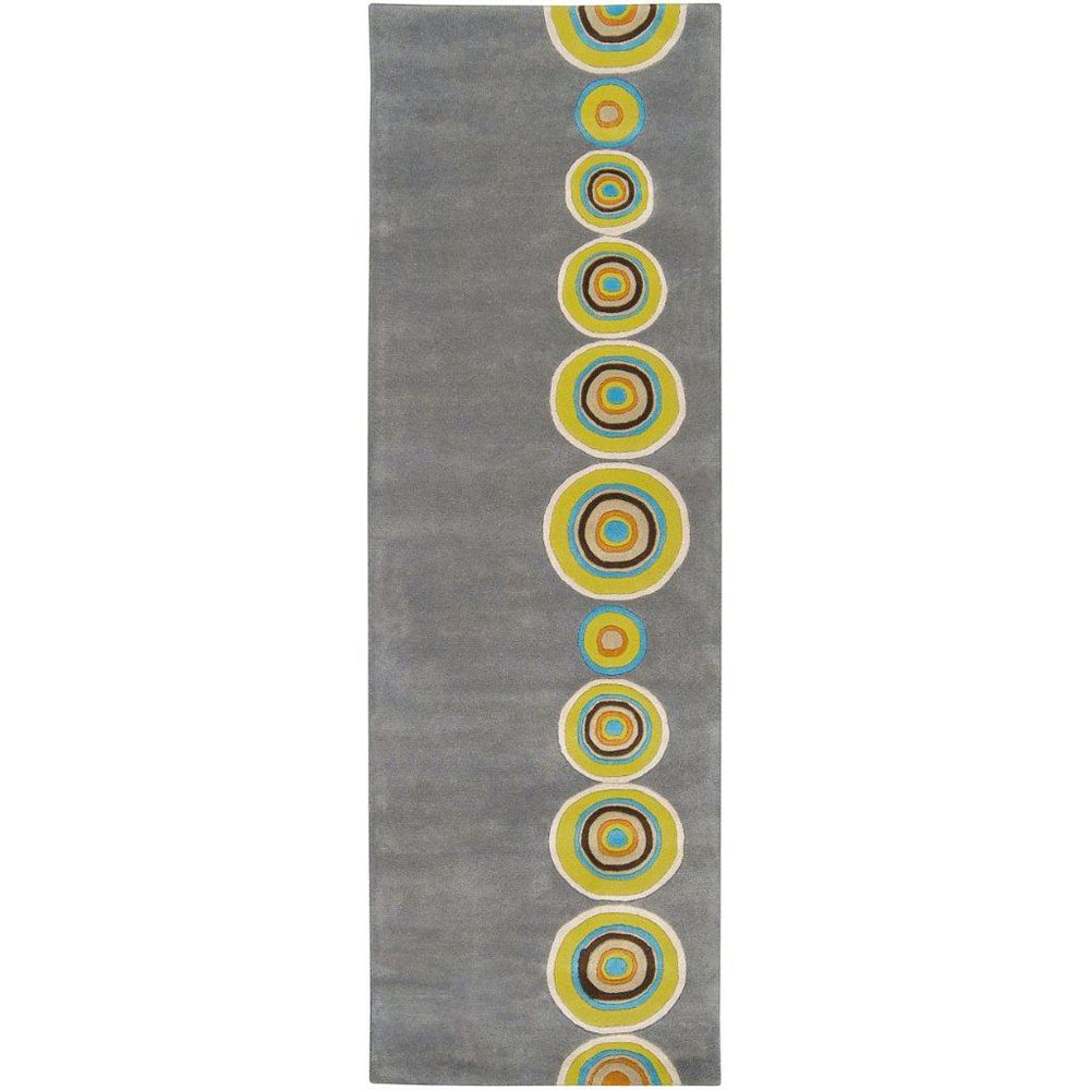 Artistic Weavers Pannece Grey 2 ft. 6-inch x 8 ft. Indoor Contemporary Runner