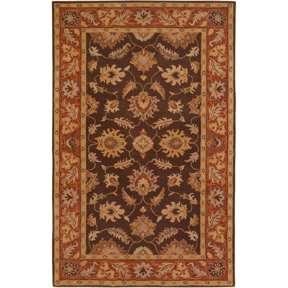 Artistic Weavers Cabris Brown 2 ft. x 3 ft. Indoor Traditional Rectangular Accent Rug