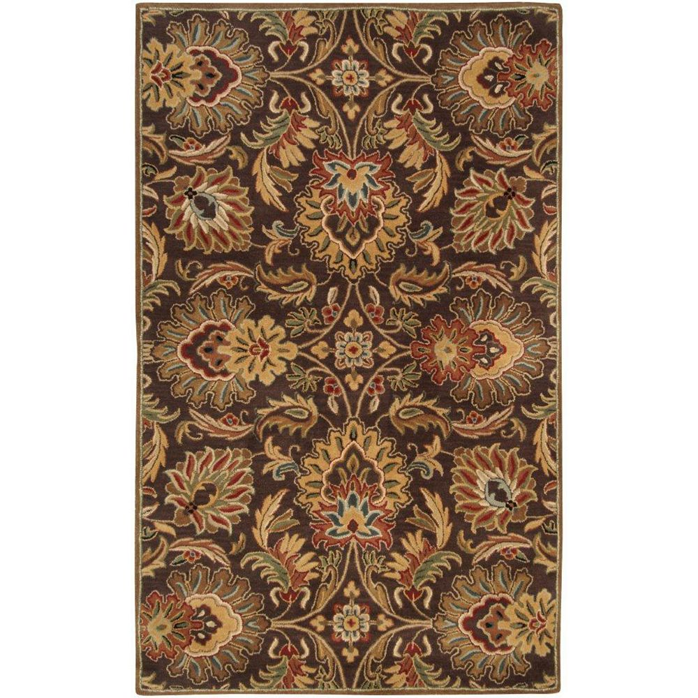 Artistic Weavers Calabasas Brown 10 ft. x 14 ft. Indoor Traditional Rectangular Area Rug