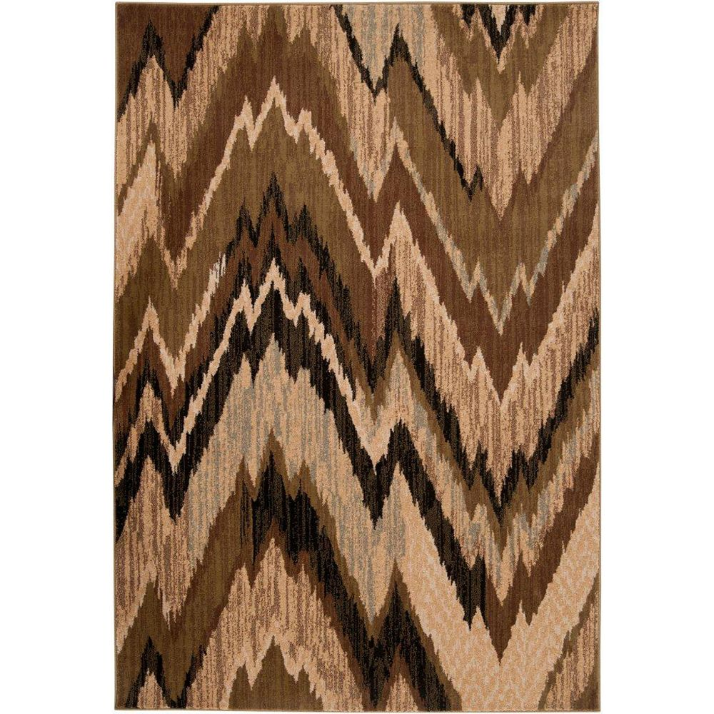 Artistic Weavers Calgary Black 2 ft. x 7 ft. 5-inch Runner