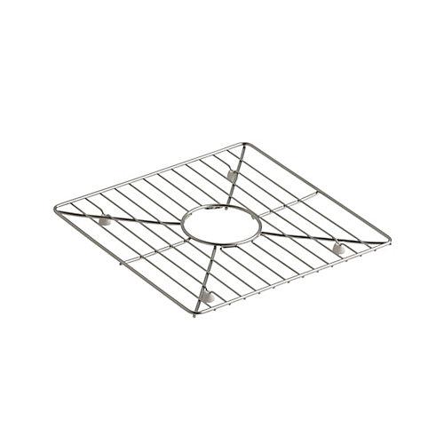 Support d'evier en acier inoxydable, 13 3/16 x 13 3/16 po pour eviers de cuisine et bar Poise