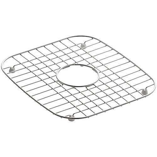 Support d'evier en acier inoxydable, 12 1/4 x 13 3/4 po pour eviers de cuisine Undertone et Verse