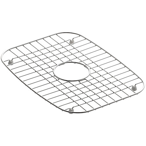 Support d'evier en acier inoxydable, 12 1/4 x 16 1/2 po pour eviers de cuisine Undertone et Verse