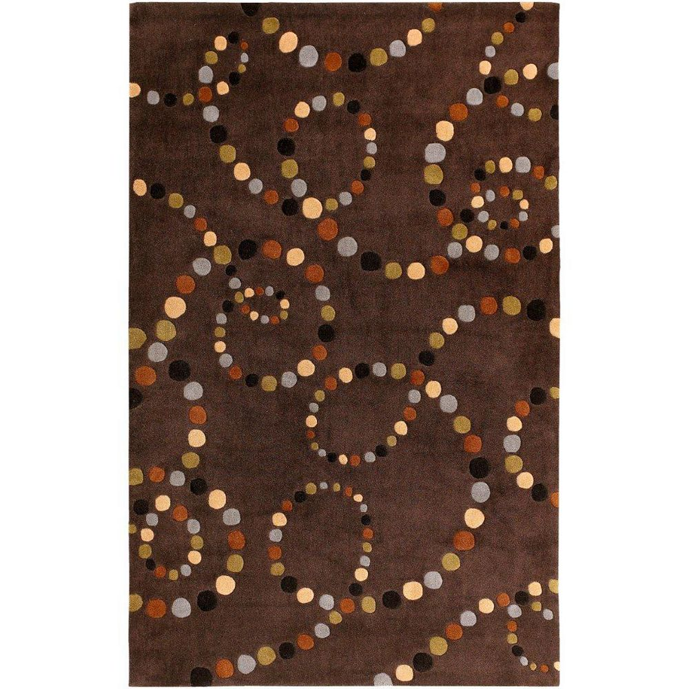 Artistic Weavers Illies Brown 3 ft. 6-inch x 5 ft. 6-inch Rectangular Area Rug