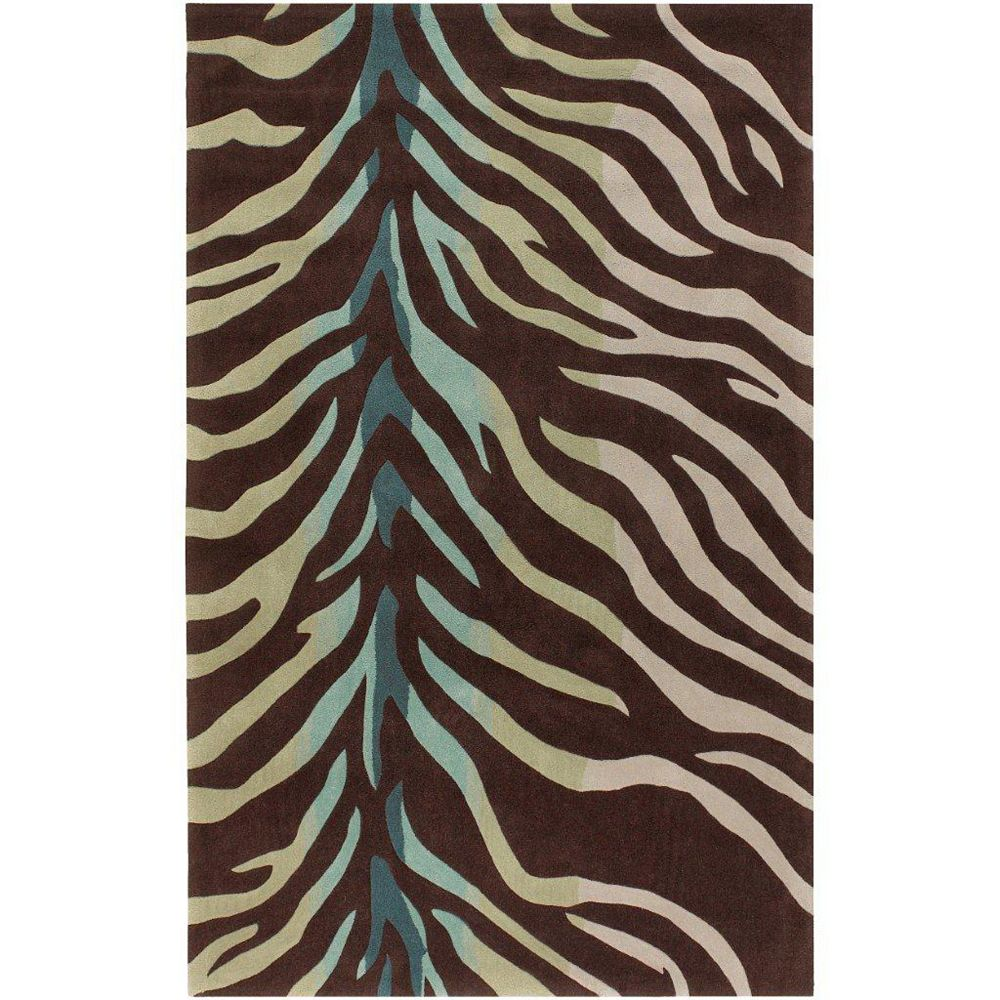 Artistic Weavers Jacou Brown 3 ft. 6-inch x 5 ft. 6-inch Indoor Transitional Rectangular Area Rug