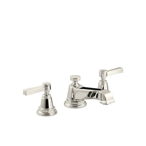 Pinstripe(R) Pure widespread bathroom sink faucet with lever handles