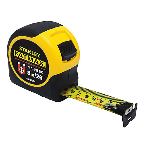 8m/ 26 ft. Fatmax Magnetic Tape