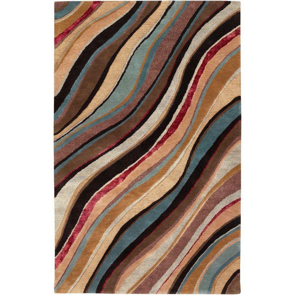 Artistic Weavers Alameda Brown 3 ft. 3-inch x 5 ft. 3-inch Indoor Contemporary Rectangular Area Rug
