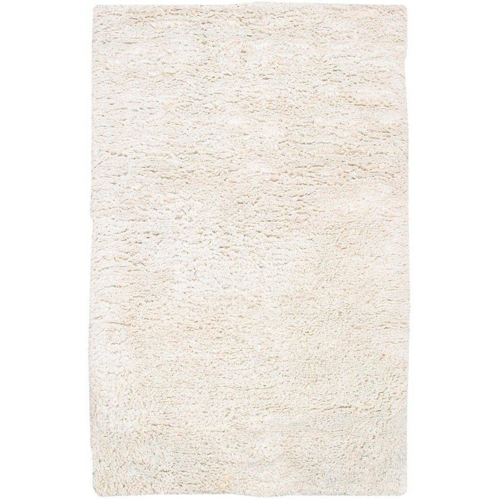 Artistic Weavers Albany Off-White 3 ft. 6-inch x 5 ft. 6-inch Indoor Shag Rectangular Area Rug