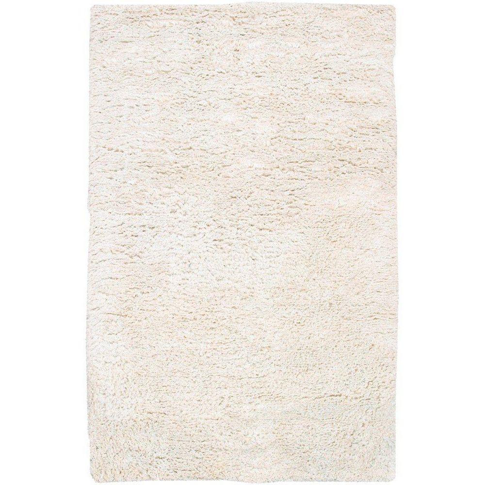 Artistic Weavers Carpette d'intérieur, 5 pi x 8 pi, à poils longs, rectangulaire, blanc cassé Albany