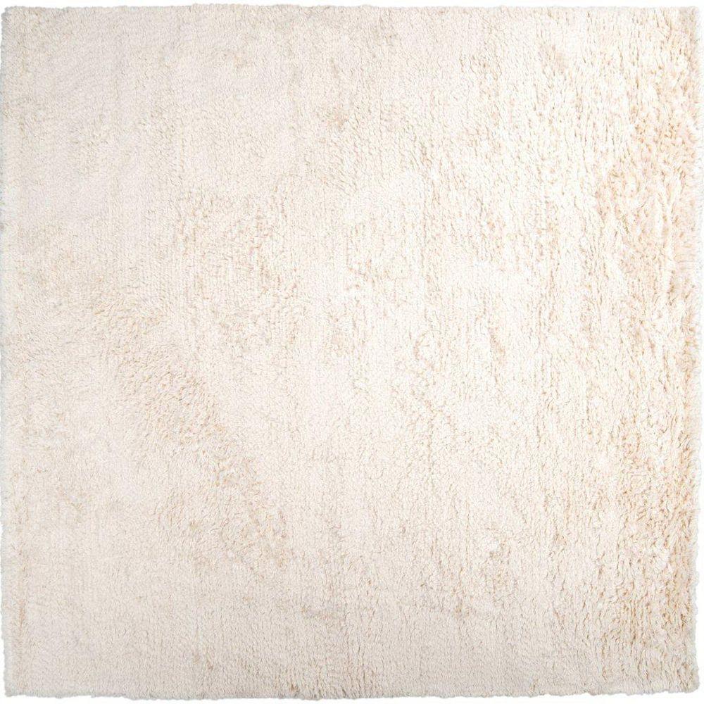 Artistic Weavers Carpette d'intérieur, 8 pi x 8 pi, à poils longs, carrée, blanc cassé Albany
