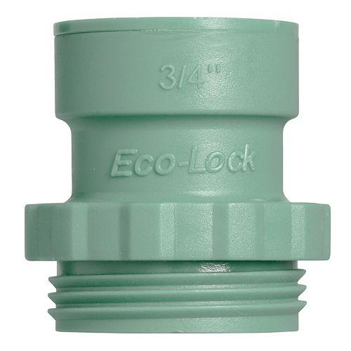 1,9 cm Eco-Lock<sup>®</sup> x Orbit<sup>®</sup> Collecteur Adaptateur