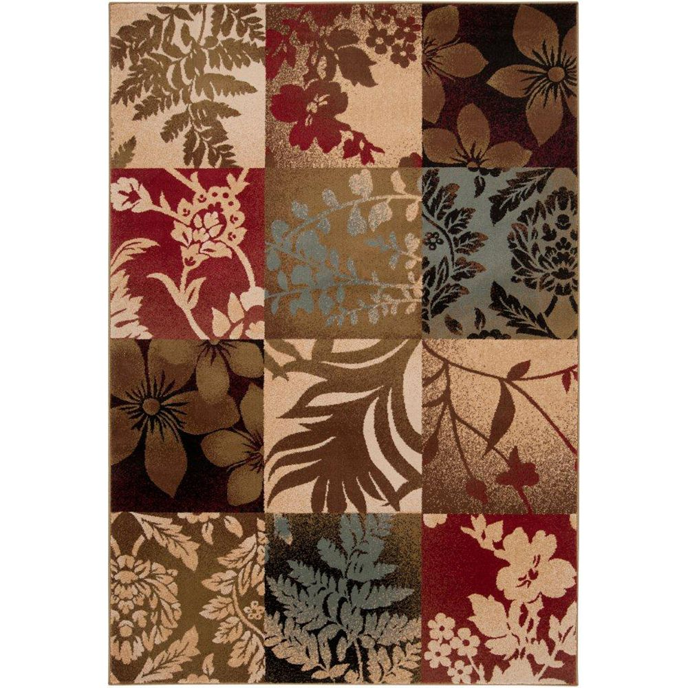 Artistic Weavers Abbotsford Brown 6 ft. 6-inch x 9 ft. 8-inch Indoor Transitional Rectangular Area Rug