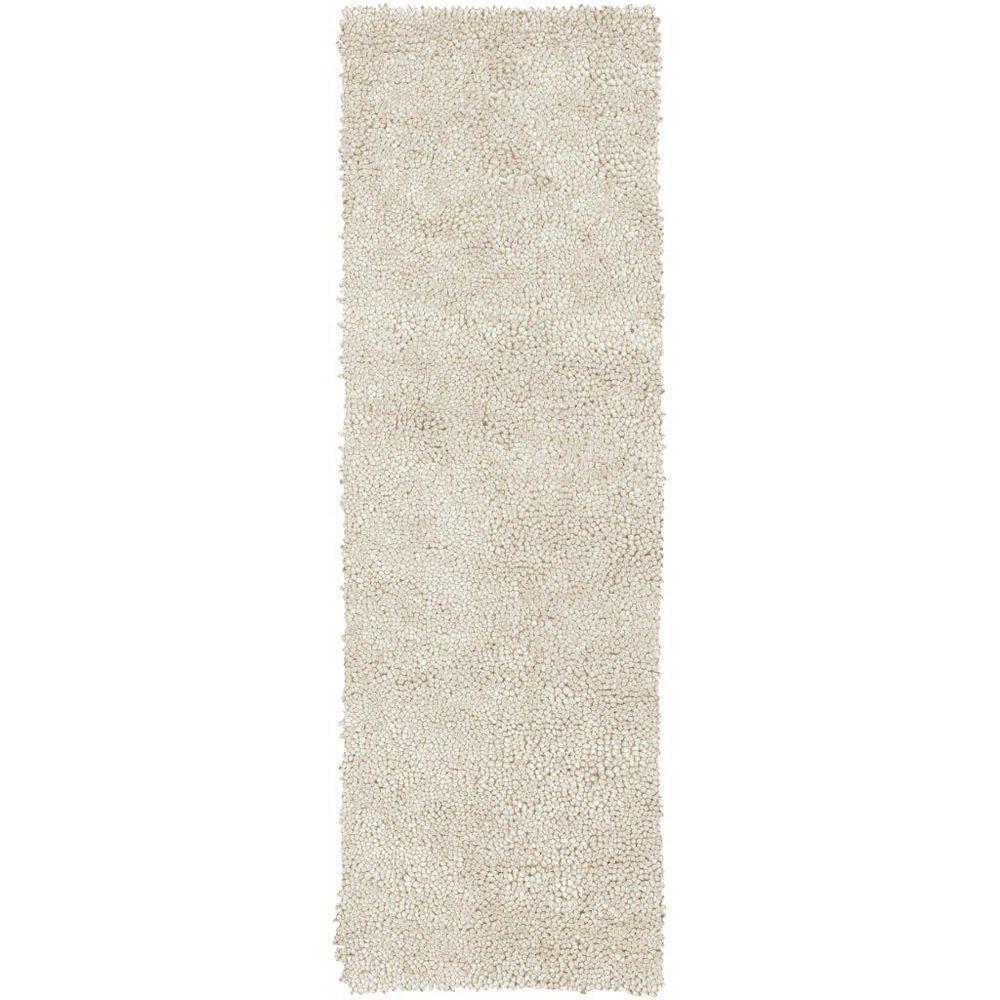 Artistic Weavers Adelanto Off-White 2 ft. 6-inch x 8 ft. Indoor Shag Runner