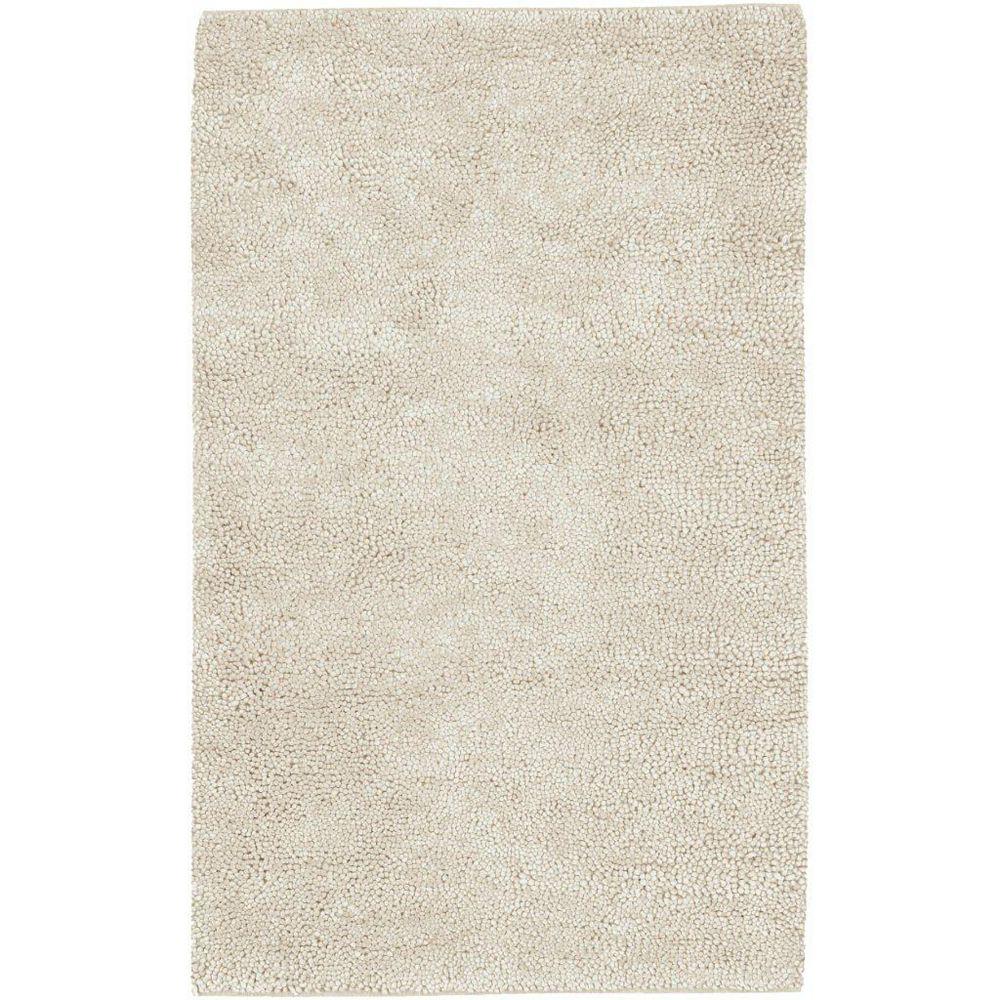 Artistic Weavers Adelanto Off-White 3 ft. 6-inch x 5 ft. 6-inch Indoor Shag Rectangular Area Rug