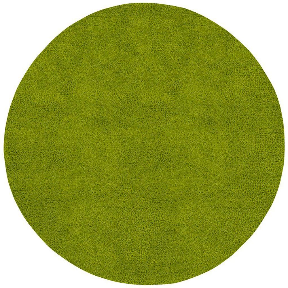 Artistic Weavers Agoura Green 8 ft. x 8 ft. Indoor Shag Round Area Rug