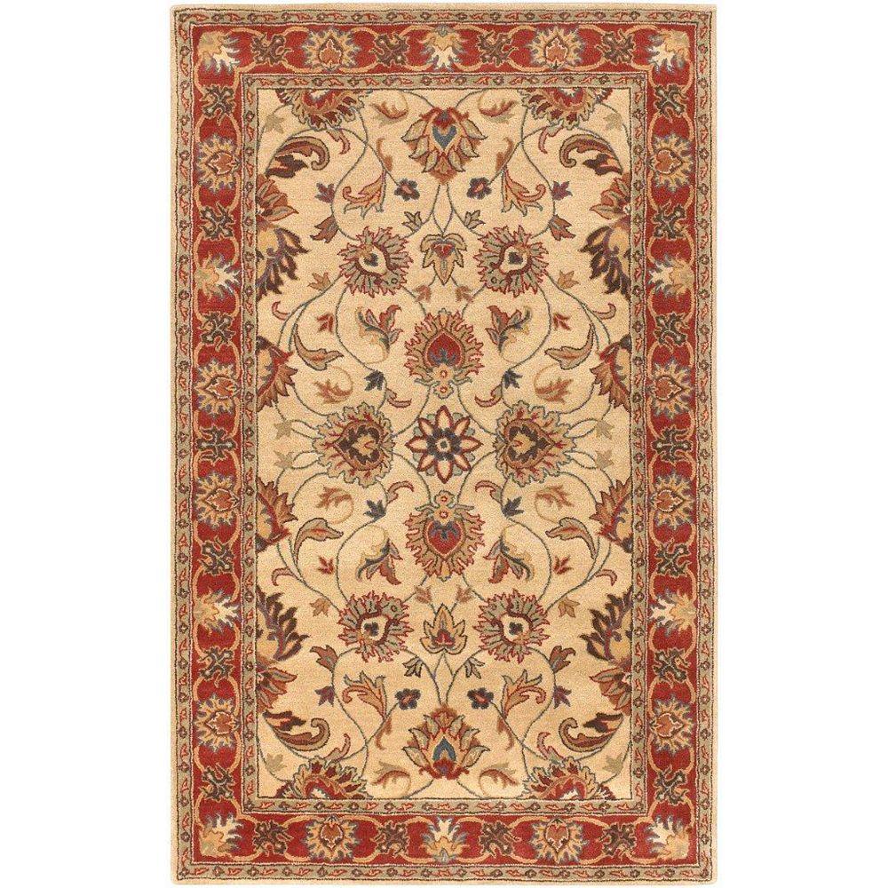 Artistic Weavers Belmont Beige Tan 7 ft. 6-inch x 9 ft. 6-inch Indoor Traditional Rectangular Area Rug