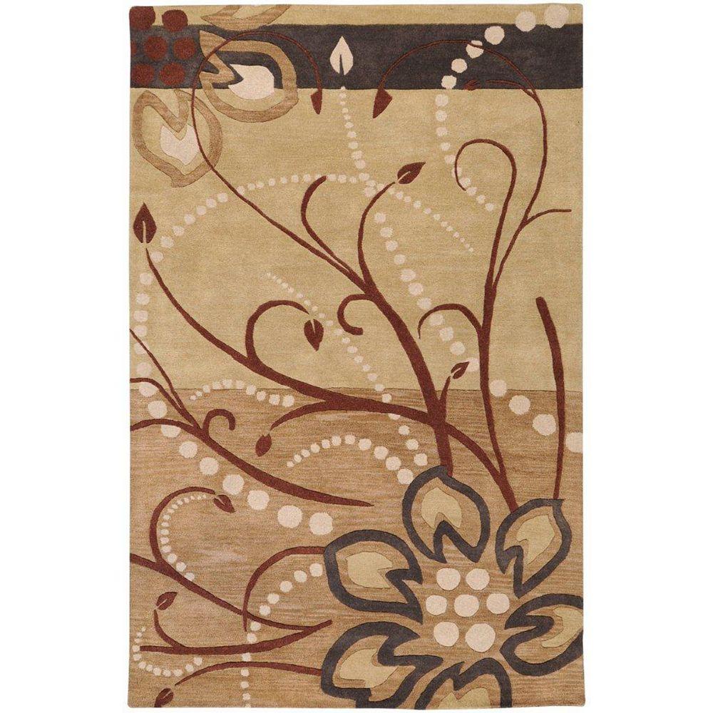 Artistic Weavers Amador Beige Tan 7 ft. 6-inch x 9 ft. 6-inch Indoor Transitional Rectangular Area Rug
