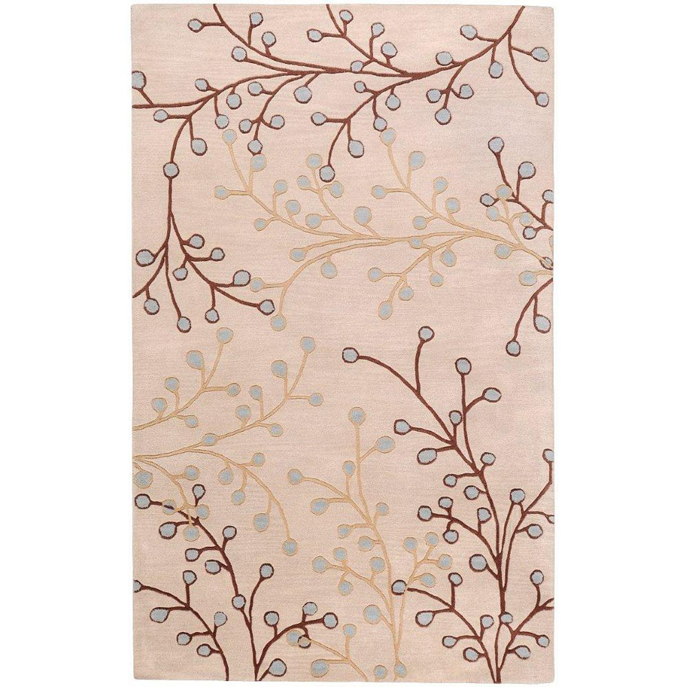 Artistic Weavers Anaheim Off-White 4 ft. x 6 ft. Indoor Transitional Rectangular Area Rug