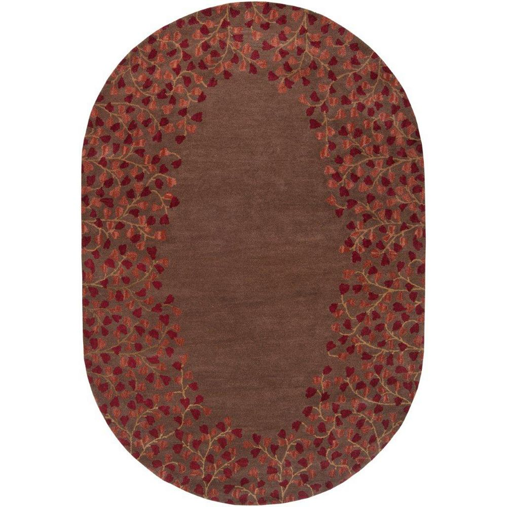 Artistic Weavers Alturas Brown 8 ft. x 10 ft. Indoor Transitional Oval Area Rug