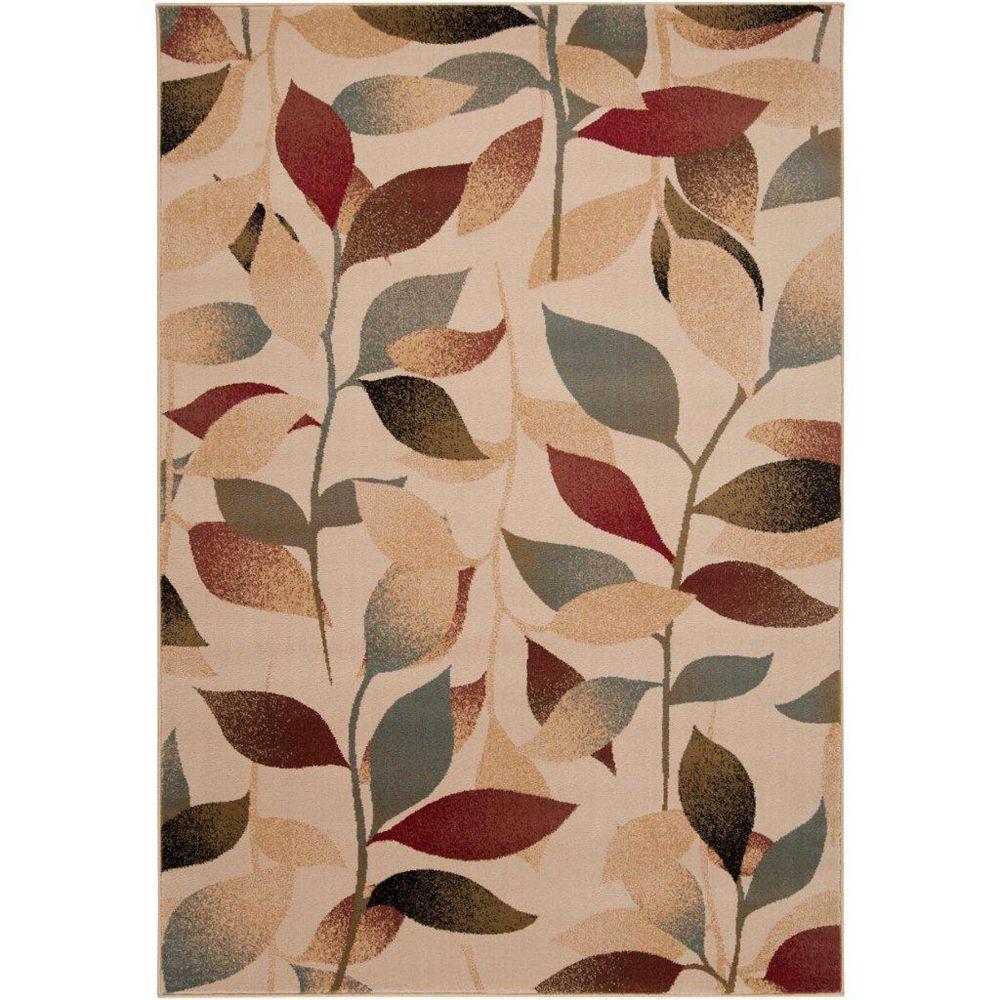 Artistic Weavers Carpette d'intérieur, 6 pi 6 po x 9 pi 8 po, style transitionnel, rectangulaire, havane Edmonton
