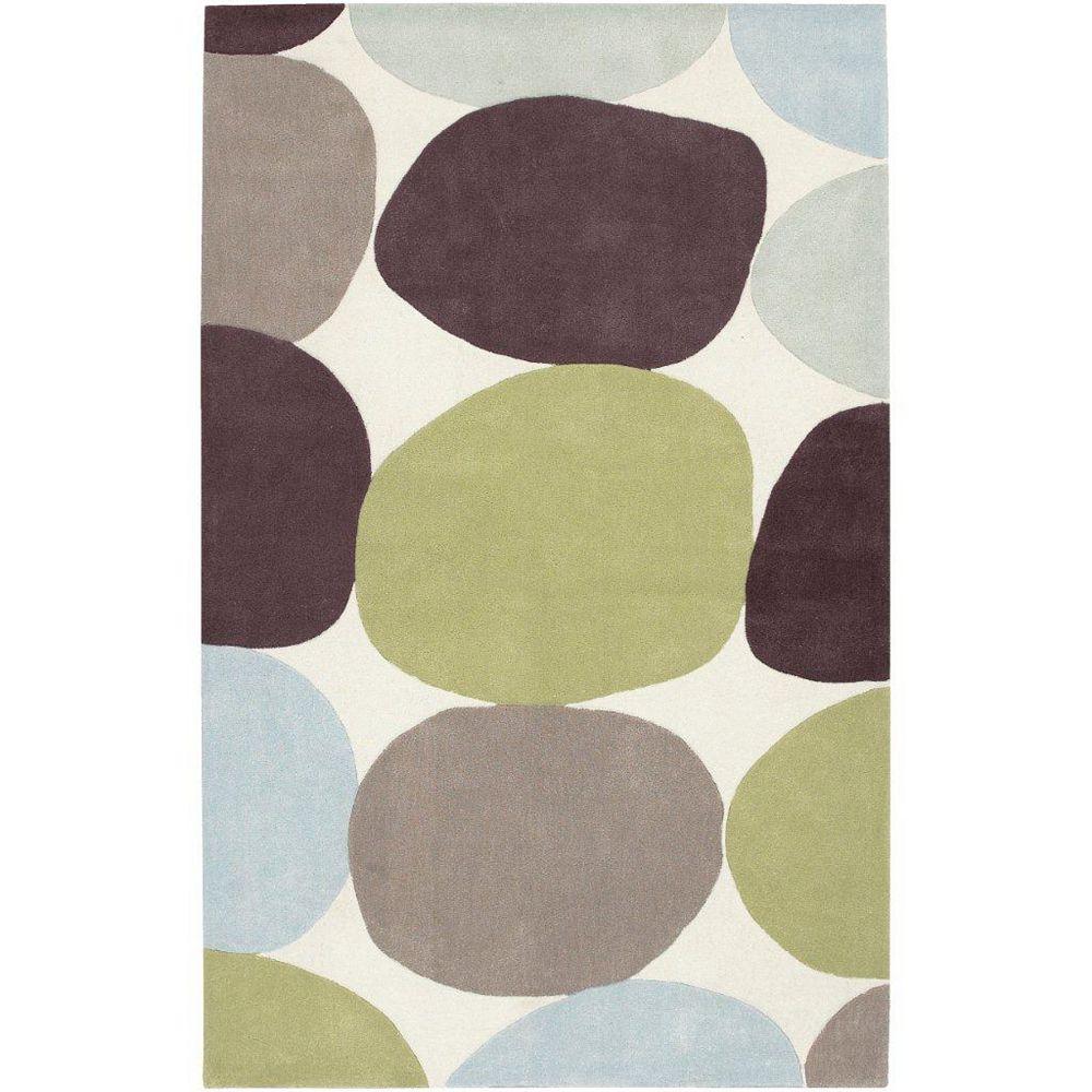 Artistic Weavers Carpette d'intérieur, 2 pi x 3 pi, style transitionnel, rectangulaire, brun Falleron