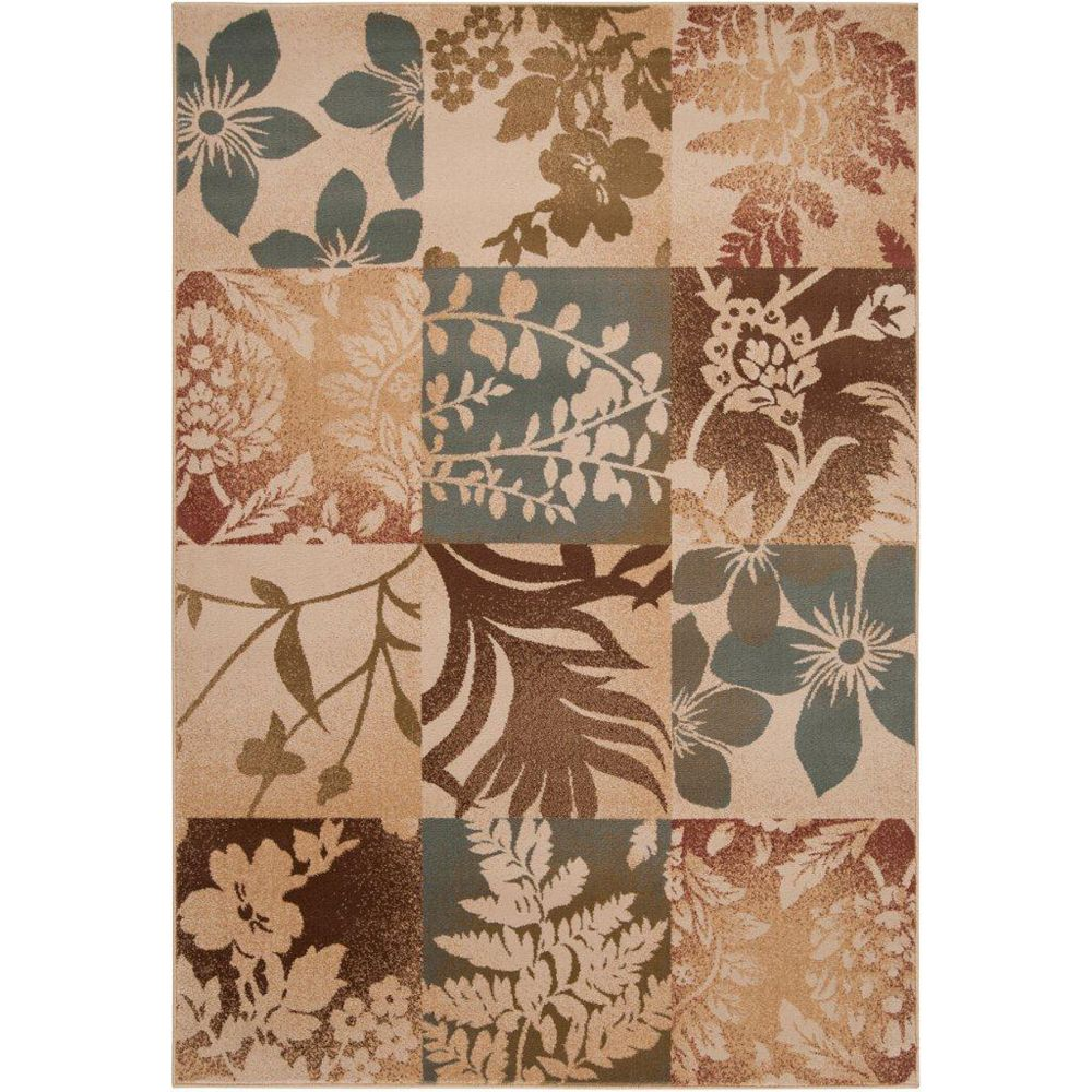 Artistic Weavers Armstrong Brown 5 ft. 3-inch x 7 ft. 6-inch Rectangular Area Rug