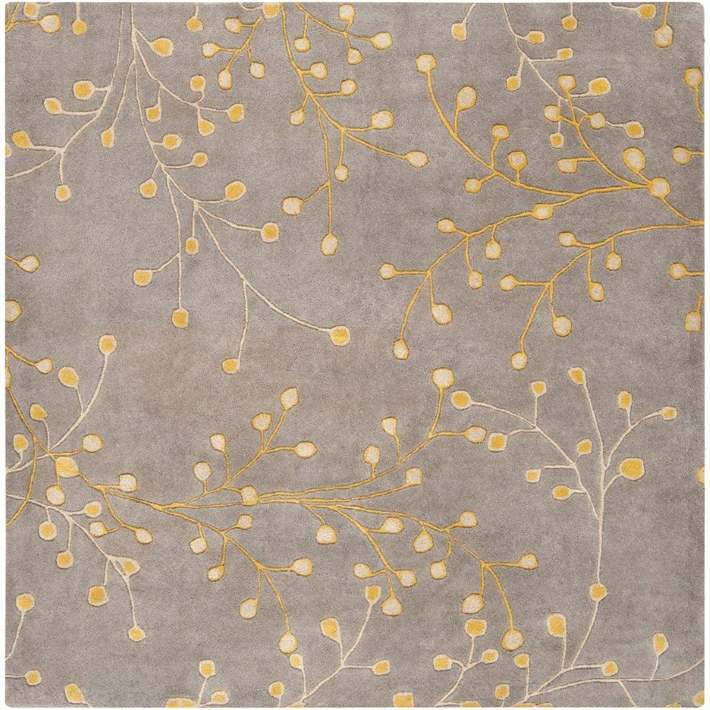 Artistic Weavers Arroyo Grey 9 ft. 9-inch x 9 ft. 9-inch Indoor Transitional Square Area Rug
