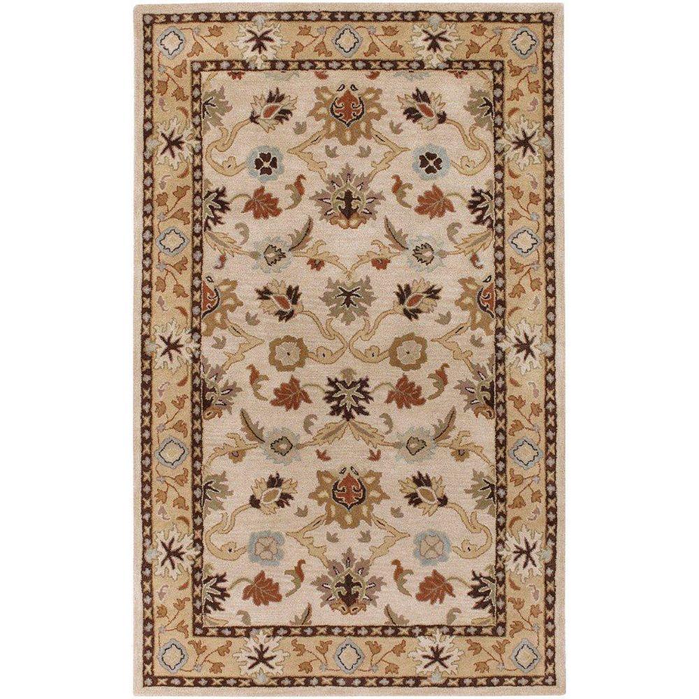 Artistic Weavers Brea Beige Tan 10 ft. x 14 ft. Indoor Traditional Rectangular Area Rug